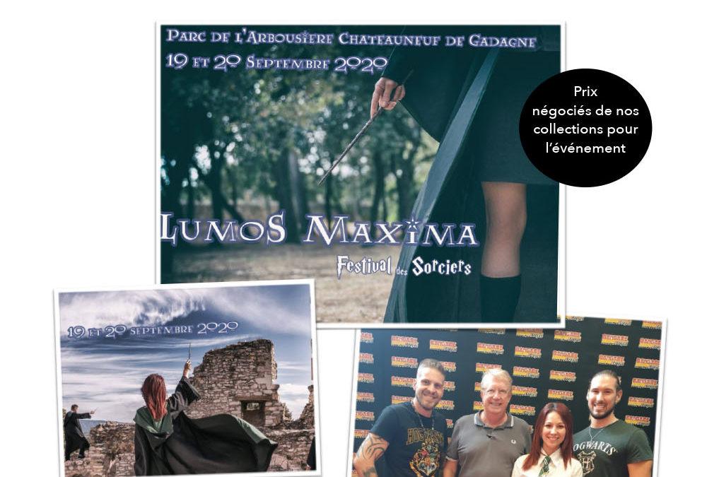 Reporté pour cause sanitaire : Festival avec l'asso lumos maxima le 19 et 20 septembre à chateauneuf de gadagne dans le Vaucluse