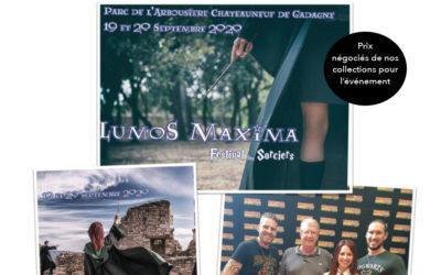 Festival avec l'asso lumos maxima le 19 et 20 septembre à chateauneuf de gadagne dans le Vaucluse