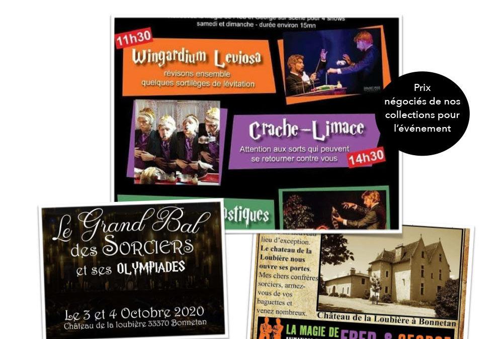Reporté pour cause sanitaire : Salon avec l'asso weekevent 3 et 4 octobre au château de la loubière à bonnetan
