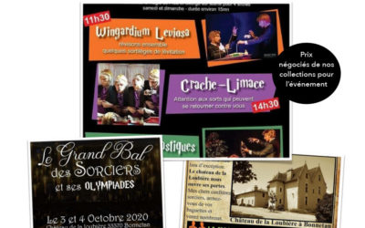 Salon avec l'asso weekevent 3 et 4 octobre au château de la loubière à bonnetan